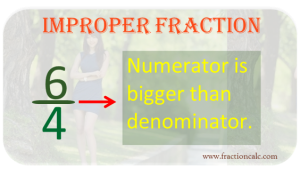 Improper Fraction