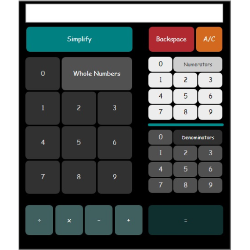 Mixed numbe calculator